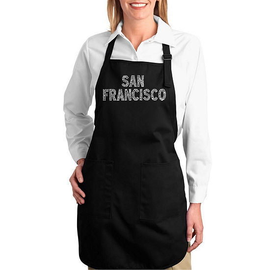 Los Angeles Pop Art Full Length Word Art Apron - The Titles of all of  William Shakespeare's Comedies & Tragedies