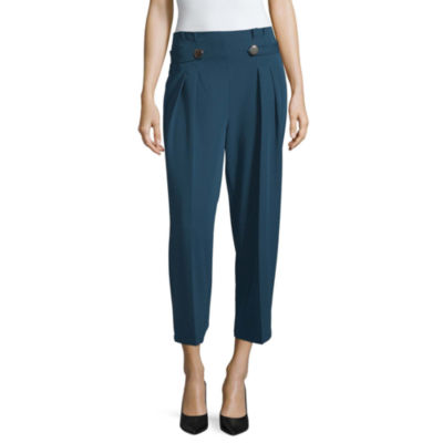 Worthington Wide Leg Pleated Pant