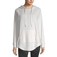Xersion Womens Hooded Neck Long Sleeve Hoodie Deals