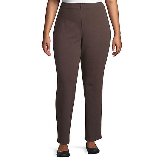 Liz Claiborne Pull On Pants - Plus