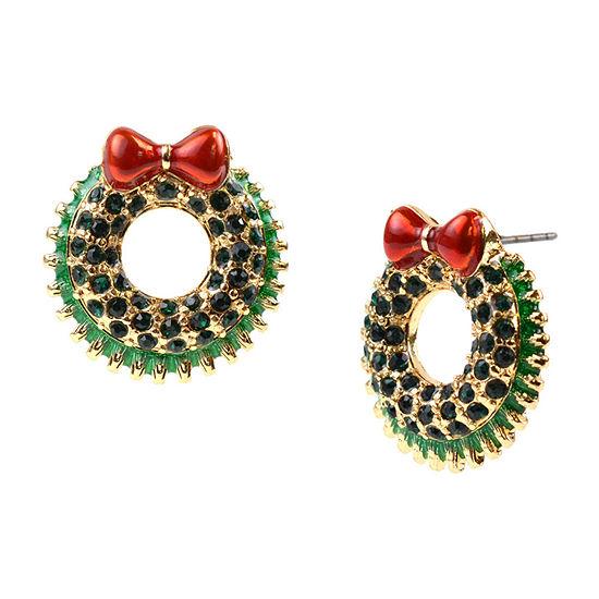 Mixit Wreath Drop Earrings