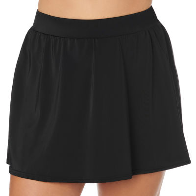 Trimshaper Slimming Control Swim Skirt Swimsuit Bottom Plus