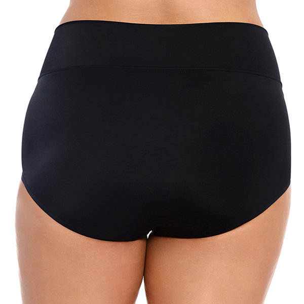 Trimshaper Slimming Control Brief Swimsuit Bottom Plus