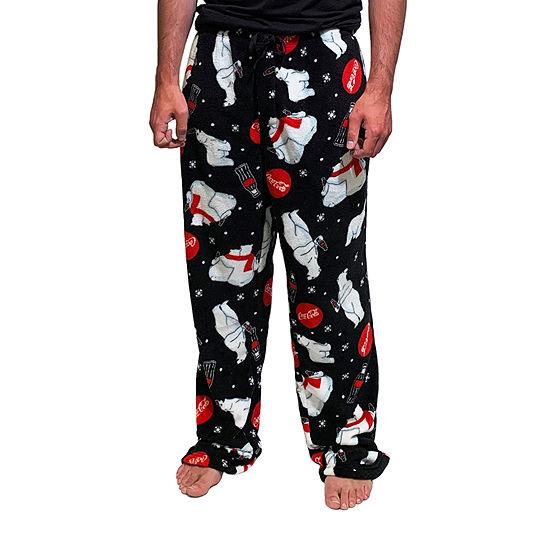 Coca-Cola Men's Plush Pajama Pants
