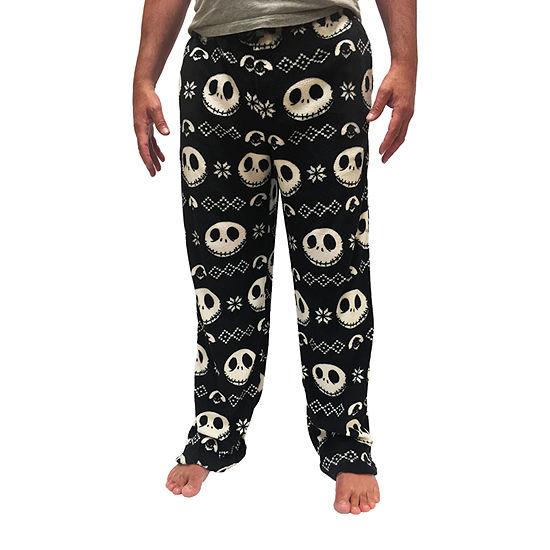 Mens Plush Pajama Pants Nightmare Before Christmas