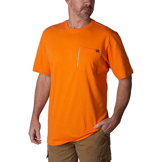 Walls Crew Neck Short Sleeve T-Shirt-Tall