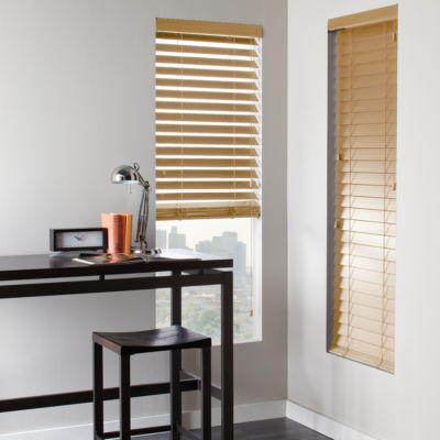 jcp home 2 Faux wood Horizontal Blinds