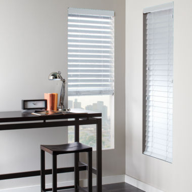 "JCPenney Home™ 2½"" Faux-Wood Horizontal Blinds"