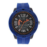Geneva Mens Blue Strap Watch