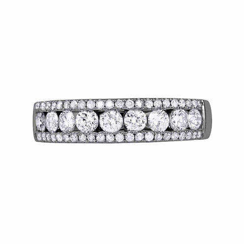 LIMITED QUANTITIES! Womens 1 CT. T.W. White Diamond 14K Gold Band