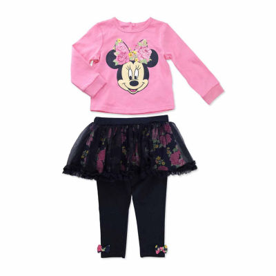 Disney 2-pc. Minnie Mouse Skirt Set Baby Girls