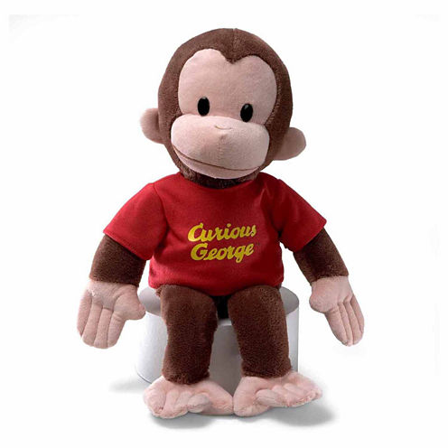 """CURIOUS GEORGE 16"""" RED SHIRT"""""""