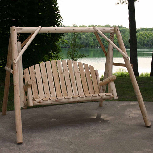 Country Garden Yard Swing