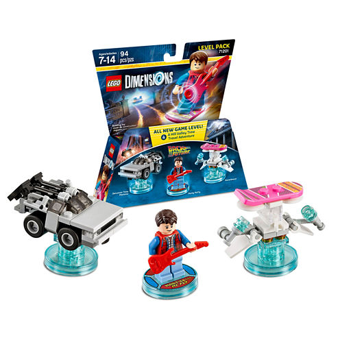 Lego Dims Back To Future Level Pack Gaming Accessory