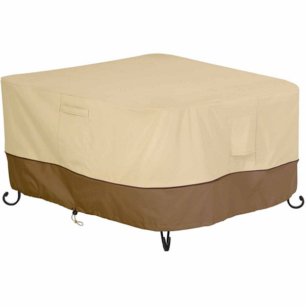 Classic Accessories Veranda Square Fire Pit Table Cover