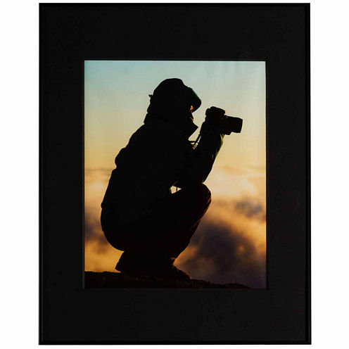 "Artcare 11x14"" Photography Aluminum Wall Frame, Matted To 8x10"""