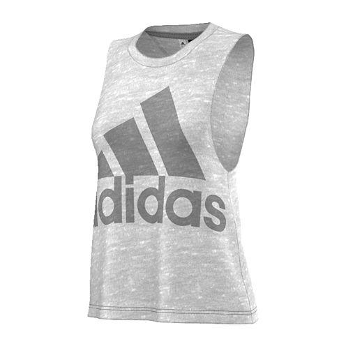 adidas® Logo Tank Top