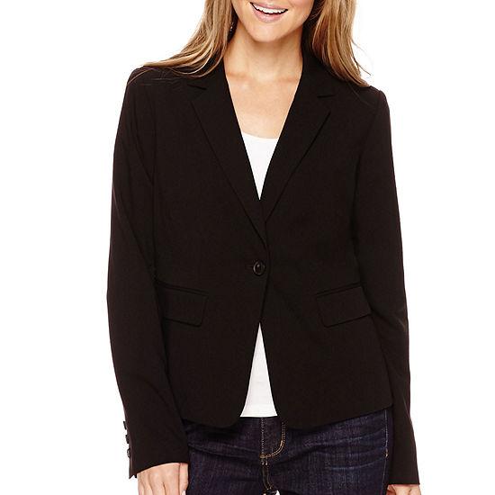 Liz Claiborne® Long-Sleeve Suit Blazer - Petite