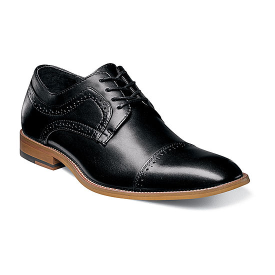 505155cf5369 Stacy Adams Dickinson Mens Leather Cap Toe Oxfords JCPenney