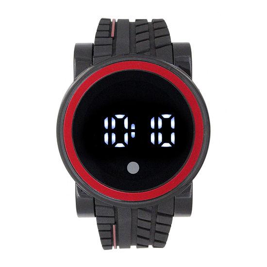 Unisex Black Strap Watch-33630