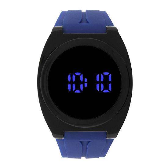 Unisex Blue Strap Watch-33636