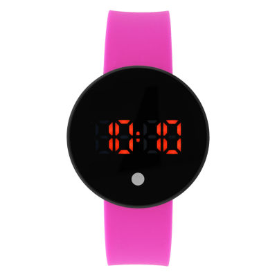 Womens Pink Strap Watch-33814