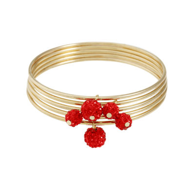 Liz Claiborne Liz Claiborne Womens Red Stretch Bracelet