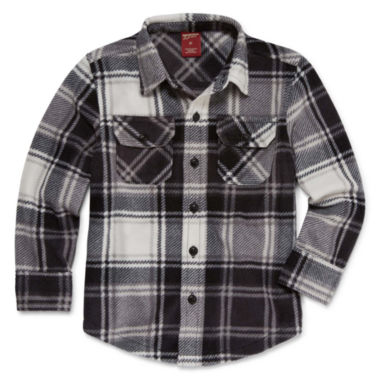 Arizona Long Sleeve Button-Front Shirt - Boys