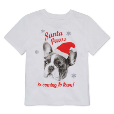 North Pole Trading Co.Crew Neck T-Shirt-Toddler Girls