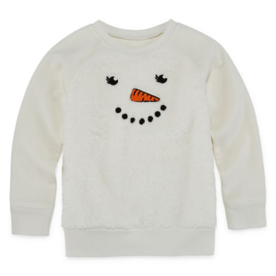 Okie Dokie Critter Sweatshirt - Toddler Girls