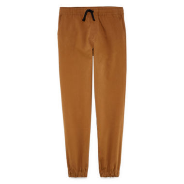 Hollywood Tobacco Twill Jogger Pants - Big Kid Boys