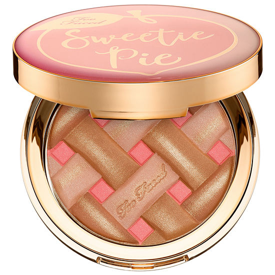 Too Faced Sweetie Pie Bronzer Radiant Matte Bronzer-– Peaches and Cream Collection