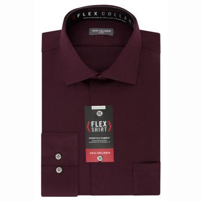 Van Heusen Van Heusen B&T Flex Collar Long Sleeve Woven Dress Shirt