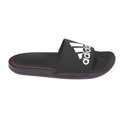 adidas Adilette Cloudfoam + Logo Mens Slide Sandals