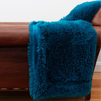 Thro Chubby Faux Fur Throw