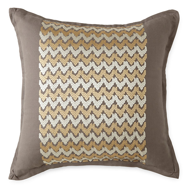 Linden Street Square Throw Pillow