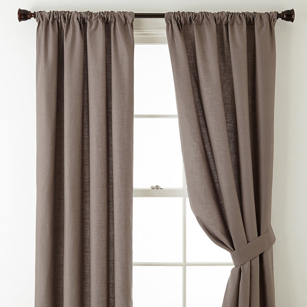 Linden Street Vista Rod-Pocket Curtain Panels