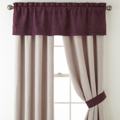 Home Expressions Zion 2-pack Rod Pocket Curtain Panels