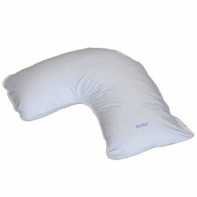 Breakfast in Bed™ Down Alternative Side Sleeper Body Pillow with XOXO