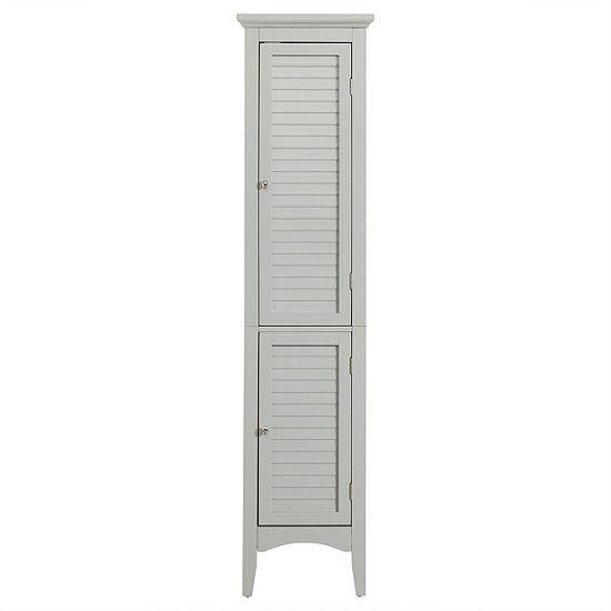 """63""""H Glancy Linen Towel with Shutter doors"""