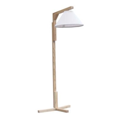 Fine Mod Imports Minimalist Wood Floor Lamp
