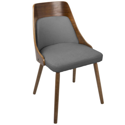 Anabelle Mid-Century Upholstered Side Chair