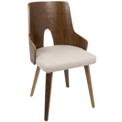 Ariana Mid-Century Upholstered Side Chair