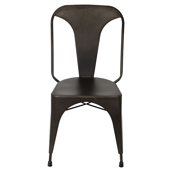 Austin Industrial Style Side Chairs - Set of 2