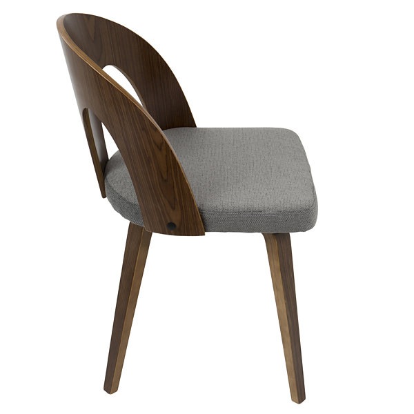 Ava Mid-Century Upholstered Side Chair