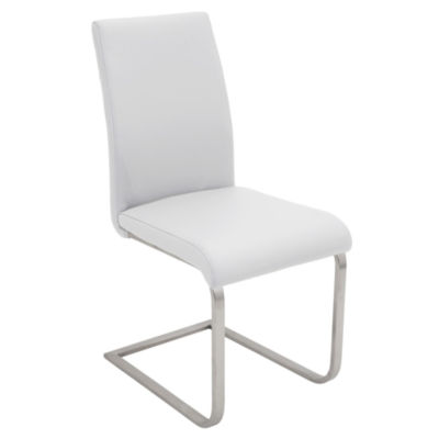 Foster Faux-Leather Side Chairs - Set of 2