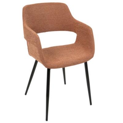Margarite Mid-Century Upholstered Armchairs - Setof 2