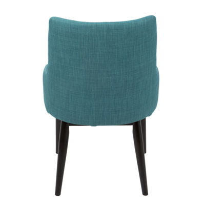 Santiago Mid-Century Upholstered Side Chairs - Setof 2