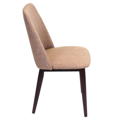 Tintori Contemporary Upholstered Side Chairs - Setof 2