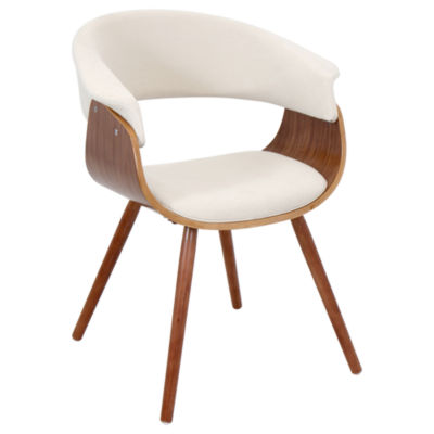 Vintage Mod Upholstered Armchair